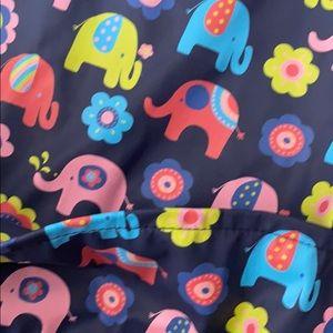 JoJo Maman Bebe Other - Jojo Maman Bebe Art Smock Elephants Flowers 2T